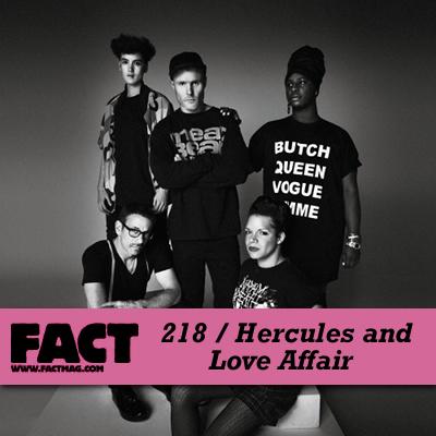 FACT mix 218: Hercules & Love Affair