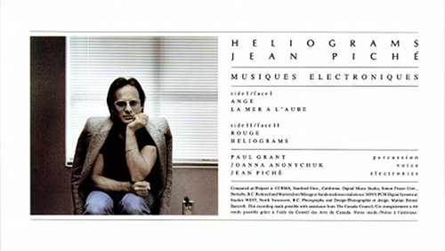 Digitalis to reissue Jean Piché&#8217;s long-lost synth classic, <em>Heliograms</em>