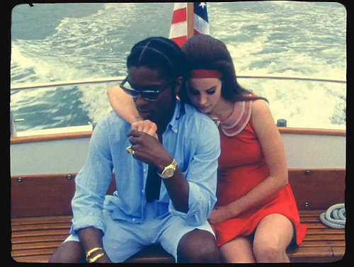 Watch <em>that</em> Lana Del Rey & A$AP Rocky video in full, stream final version of 'Ridin''