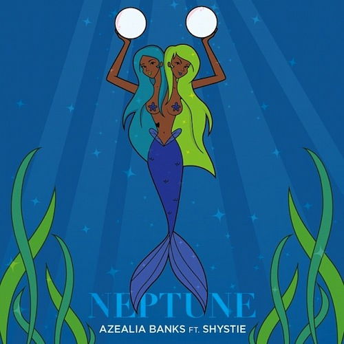 Azealia Banks keeps it aquatic with Shystie and Ikonika on 'Neptune'
