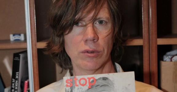 Thurston Moore playing with black-metal supergroup Twilight