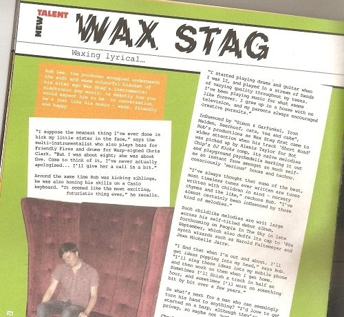 Wax Stag - Short Road EP