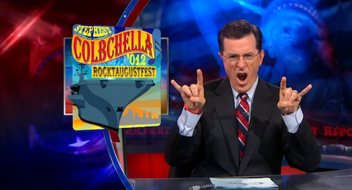 Stephen Colbert's music festival to feature Grizzly Bear, the Flaming Lips, and Santigold