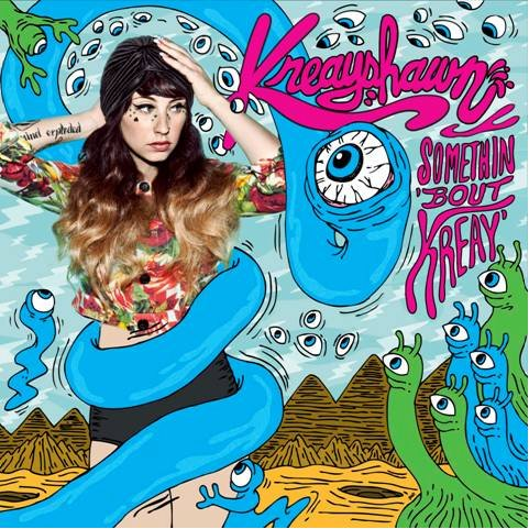 Kreayshawn reveals art and release date for debut album