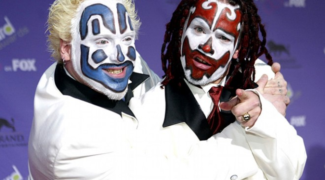 Yes, this is true: Insane Clown Posse are suing the FBI