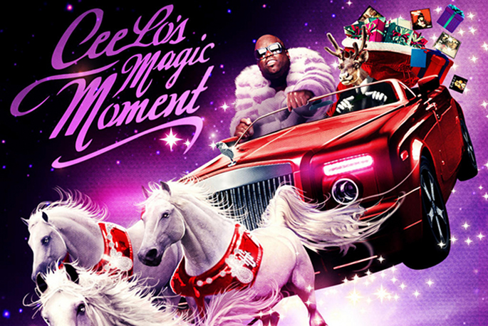 Cee Lo Green confirms lunatic Christmas album; Rod Stewart and ...