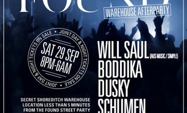 Will Saul announced as secret headliner of FOUND&#8217;s Street Warehouse after party.