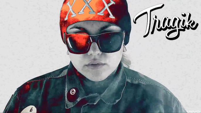 Watch a new video from Grimes and Kreayshawn collaborator Tragik