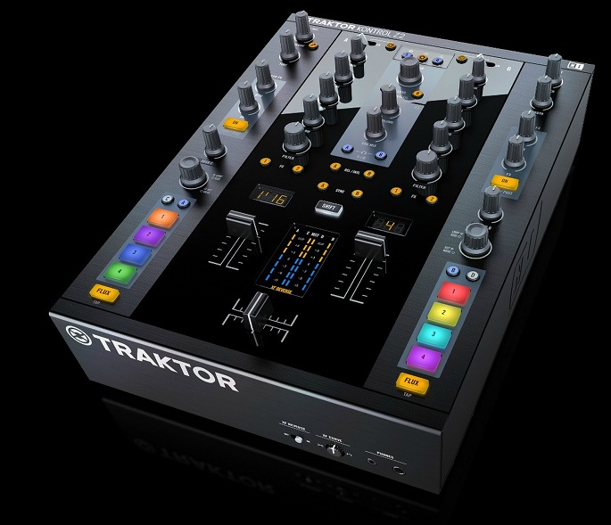 "Traktor unveil the Kontrol Z2, the ""world's first 2+2 DJ control mixer"""