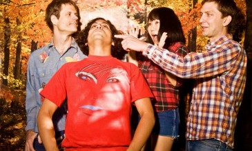 Premiere: Deerhoof head to the circus in 'Mario's Flaming Whiskers III' video
