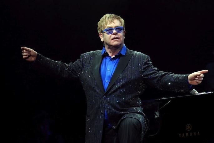 Elton John dedicates Beijing concert to Chinese artist Ai Weiwei