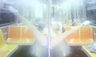 Follow a pole dancer from the subway to the swimming pool in Jessie Ware and BenZel's 'If You Love Me' video