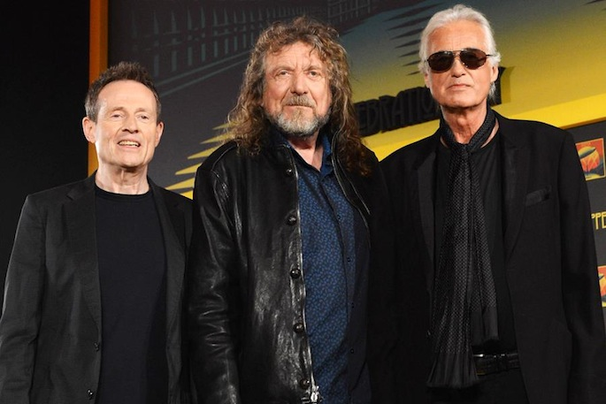 Led Zeppelin To Appear On Late Show With David Letterman