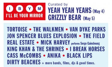 ATP announce 2013 I'll Be Your Mirror bill; Tortoise, The Field and Yeah Yeah Yeahs feature