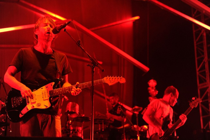 Listen to the latest song by supergroup Atoms for Peace