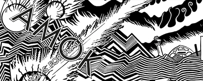Atoms for Peace share live video, deluxe <em>AMOK</em> artwork