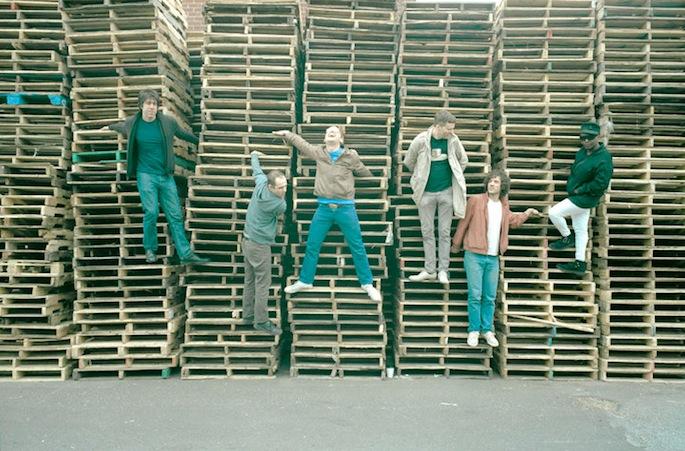 "Dance-punks !!! announce tour, share ""club-floor classic"" tribute 'Slyd'"