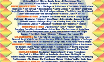 Glastonbury announce 2013 lineup with The Weeknd, James Blake and more