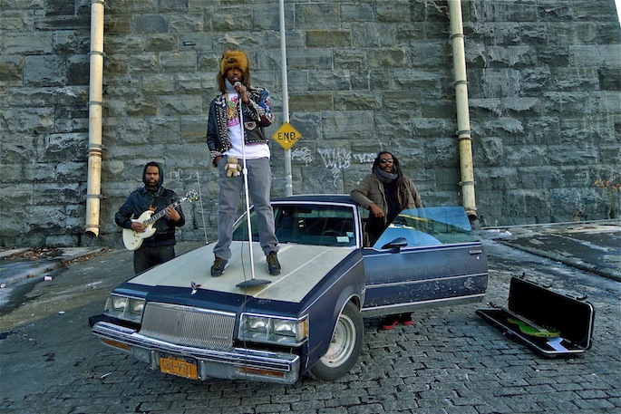 Murs, Sacha Jenkins, Bad Brains' Darryl Jenkins collaborate as White Mandingos