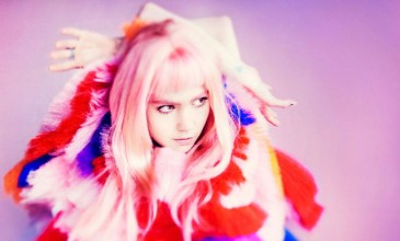 "Grimes is ""two-fifths"" into her new album; it's inspired by Enya and Paramore"