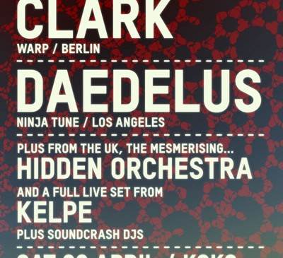 Clark and Daedelus bring car-boot electronics to London&#8217;s KOKO