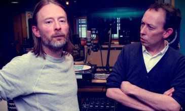 Listen to Thom Yorke and Nigel Godrich's Atoms for Peace remix Four Tet's 'Pyramid'