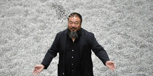Chinese artist Ai Weiwei shares brilliant video for metallic 'Dumbass'