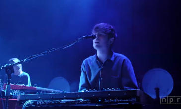 Watch an entire James Blake concert, filmed in HD
