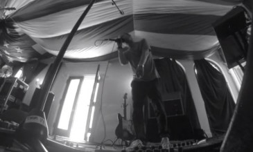 Watch Atoms For Peace rehearse their eponymous song from Thom Yorke&#8217;s <em>The Eraser</em>