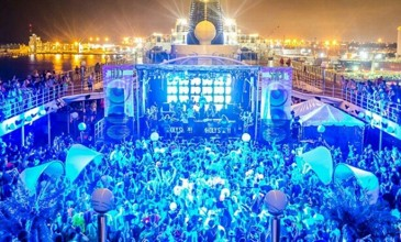 """Swarovski crystal staircases"": the EDM Cruise is back, with Pharrell, Disclosure and Skrillex"