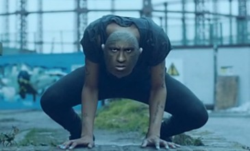 Watch Mykki Blanco grow another face in surreal video for 'The Initiation'
