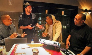 Nas, Jay-Z, Justin Timberlake and Timbaland recording together?