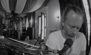 Watch Atoms For Peace perform Thom Yorke & UNKLE's fan favourite 'Rabbit In Your Headlights'