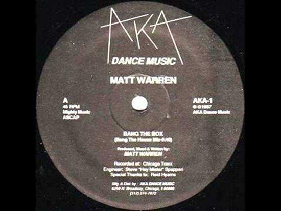 Short lived 1980s chicago house label aka dance music for Chicago house music