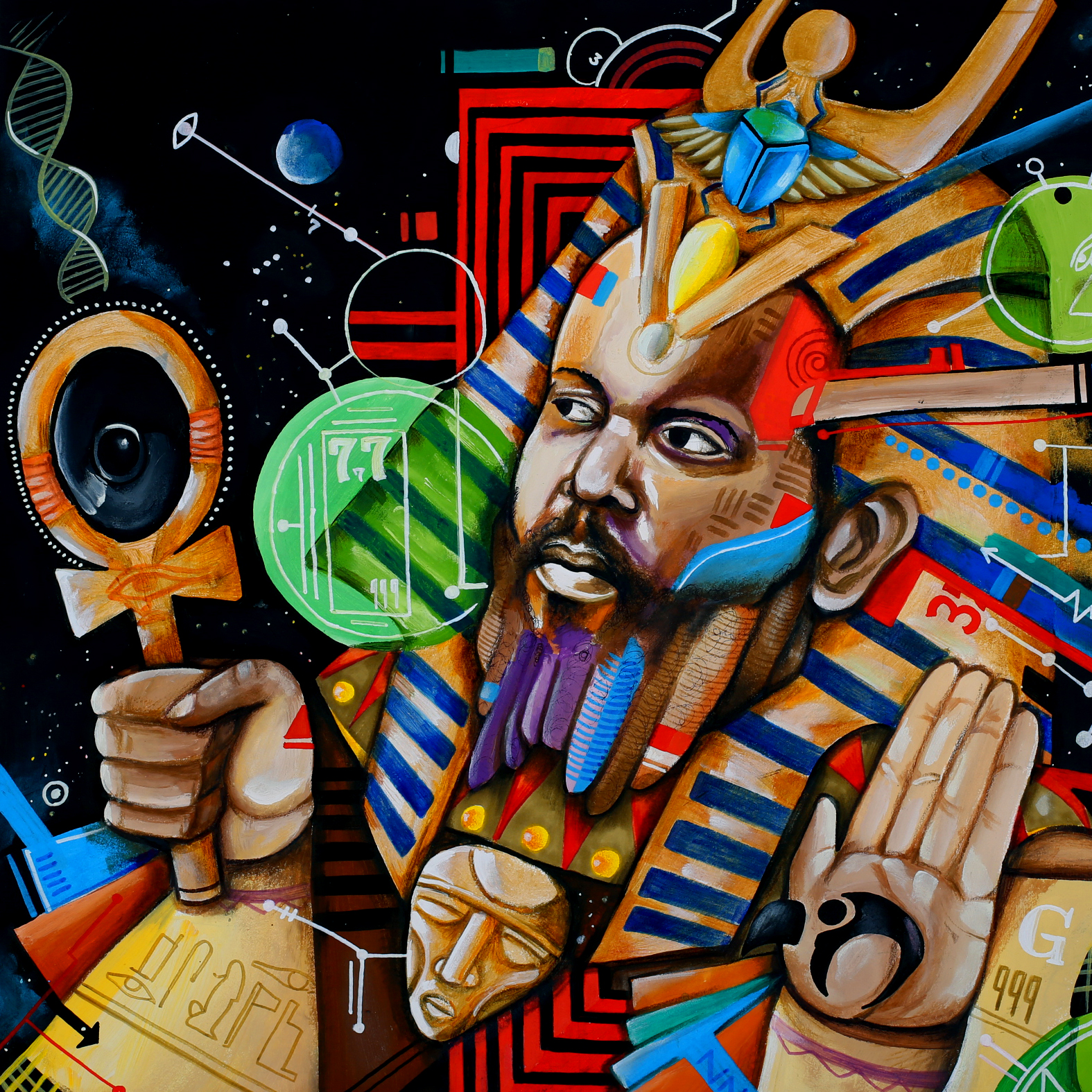 Brainfeeder artist Ras G announces <em>Back On The Planet</em>, shares spacey 'All Is Well…'