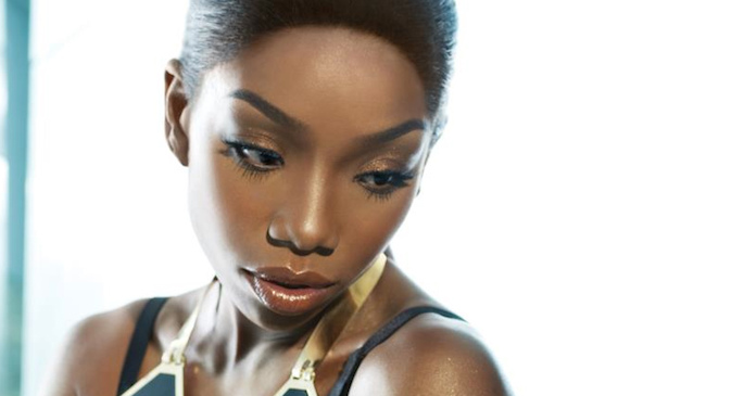 Brandy performed at a 90,000 seater stadium in South Africa... and 40 people attended