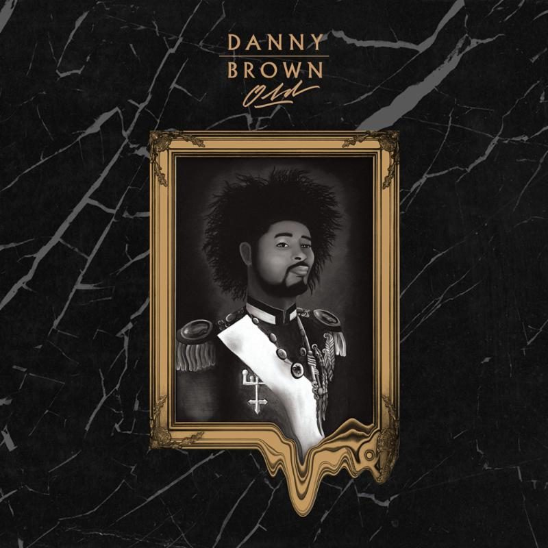 The artwork for Danny Brown's <i>Old</i> album is fantastic