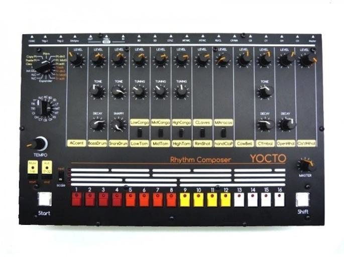 Build your own Roland TR-808 drum machine