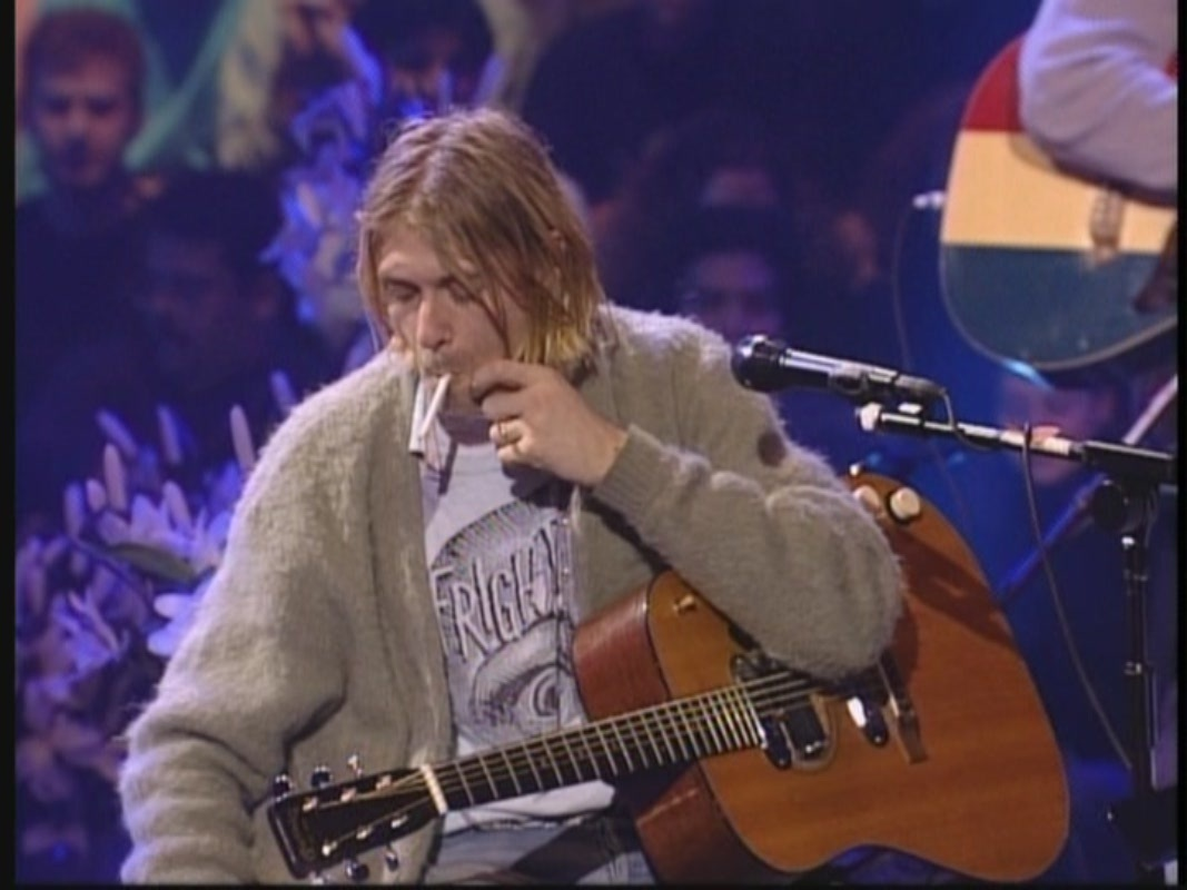 Nirvana Unplugged Wallpaper Nirvana's Legendary Unplugged