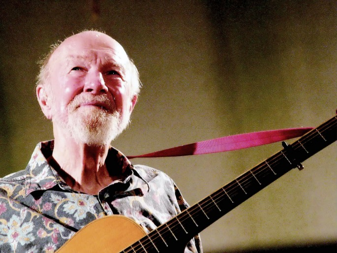 Pete Seeger, American folk music champion and life-long activist, dies aged 94