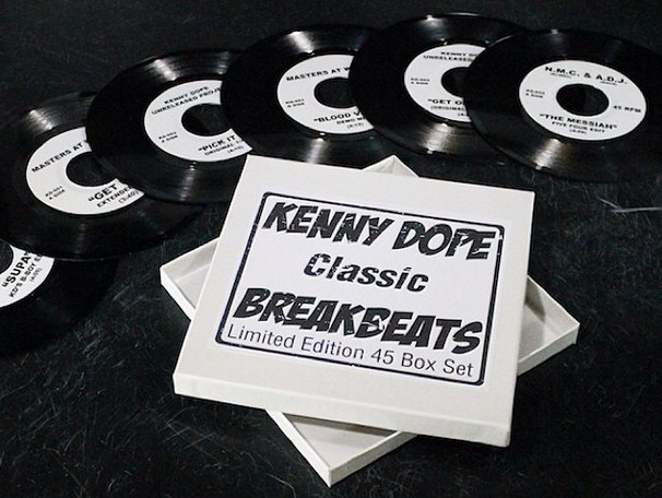 Kenny Dope releases his <I>Classic Breakbeats</i> in six-vinyl box-set