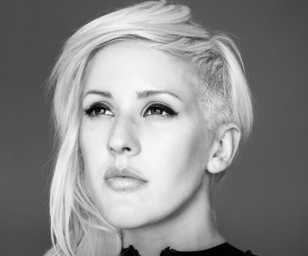 "Ellie Goulding on Burial: ""this sounds super weird, but he kind of looks over me in a weird way."""