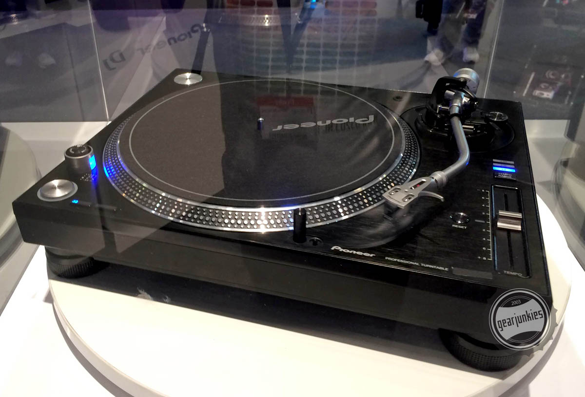 Pioneer unveils new turntable range at Musikmesse 2014