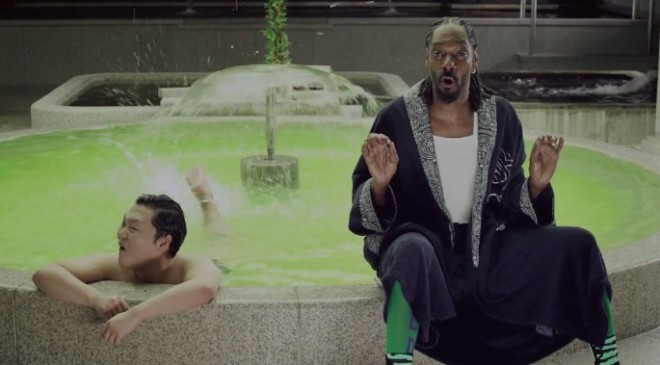 Psy and Snoop Dogg get wasted in 'Hangover' video