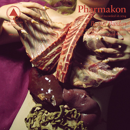 Pharmakon reveals Bestial Burden LP and artwork that's not for the squeamish