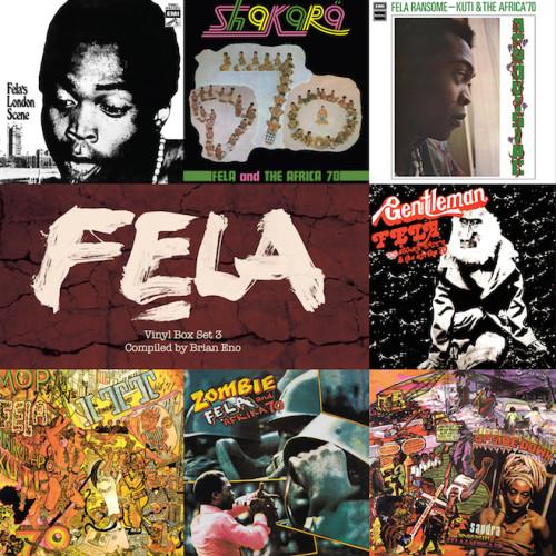 Brian Eno curates Fela Kuti vinyl box set