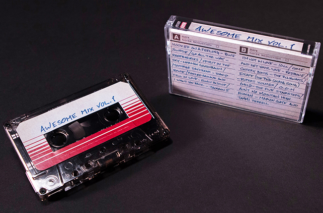 Guardians Of The Galaxy Soundtrack Receives Cassette