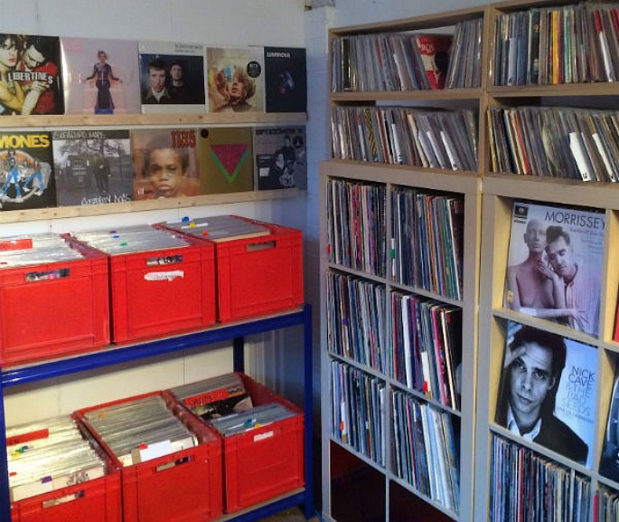 Britain's tiniest record shop opens in Peterborough
