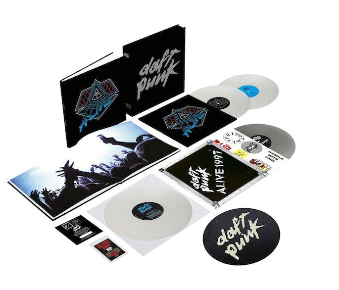 Daft Punk To Reissue Alive Albums As Vinyl Box Set Fact