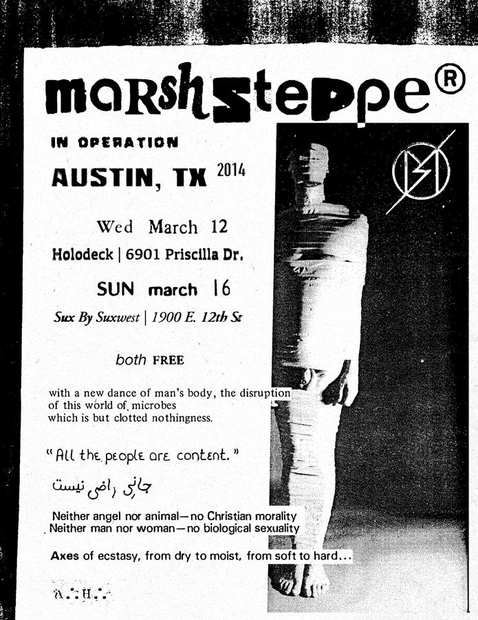 Meet Marshstepper, the bondage-loving techno loons taking